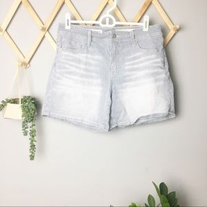 ANTHRO {pilcro} // hyphen roll up shorts